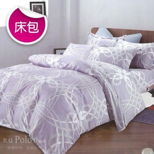 【R.Q.POLO】新絲柔系列-純真年代 三件式枕套床包組(雙人標準5X6.2尺)