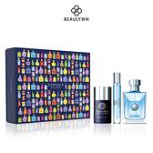 Versace 凡賽斯 經典男性 典藏限量禮盒 (100ml+10ml香水+75ml體香膏) 《BEAULY倍莉》
