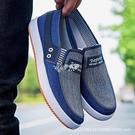 帆布鞋 春季牛筋底帆布鞋老北京布鞋韓版牛仔布學生鞋低幫休閒男鞋子
