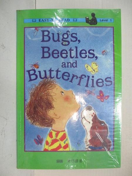 【書寶二手書T1/兒童文學_KJ3】蟲蟲、金龜子和蝴蝶 = Bugs, beetles, and butterflies_哈里特·齊夫