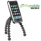 JOBY 勾樂拍 Gorillamobile GP1 章魚腳架 (GM2) 附快拆板 (郵寄免運 正成公司貨) 附手機夾適用 iPHONE 3G 3GS