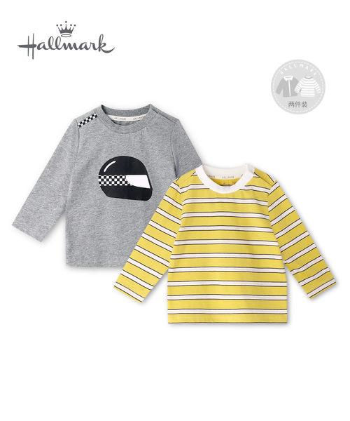 Hallmark Babies 秋冬男童賽車造型長袖上衣(兩件裝) HH3-P01-10-KB-NG