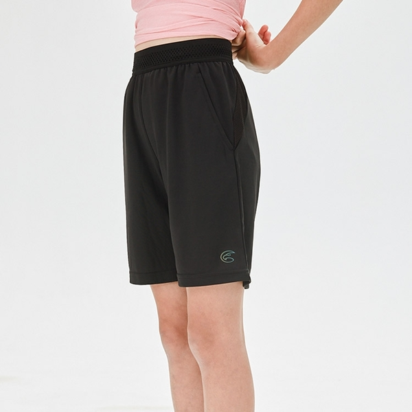 ADISI 童排汗抗UV運動短褲AP2111113 (120-160) / 運動褲 吸濕排汗 快乾 透氣 防曬