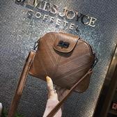 小包包女2020春季新款港風復古chic貝殼小背包百搭學生側背斜背包 裝飾界