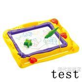 兒童畫畫板彩色磁性寫字板 嬰幼兒小黑板 寶寶涂鴉玩具1-2-3-5歲一件免運