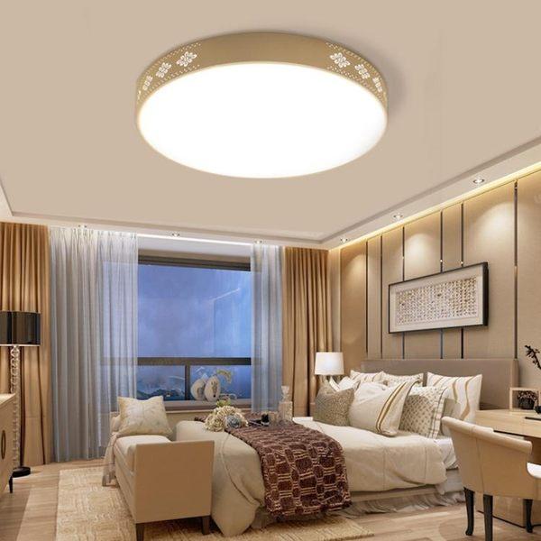 吸頂燈 年新款客廳燈具長方形臥室燈LED吸頂燈簡約現代北歐家用燈飾