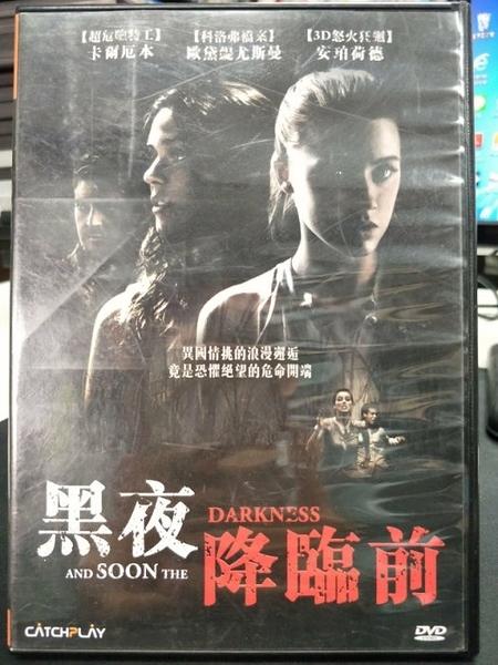挖寶二手片-Z14-020-正版DVD-電影【黑夜降臨前】-安柏赫德 卡爾艾本 歐黛尤斯曼(直購價)
