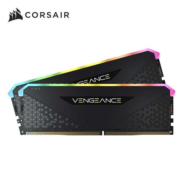 CORSAIR 海盜船 Vengeance RGB RS 16GB 2x8GB DDR4 3600 RAM 桌上型記憶體 XMP 2.0 CMG16GX4M2D3600C18