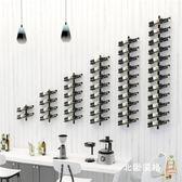 北歐酒架創意壁掛酒架壁掛式紅酒架吧台酒櫃酒架葡萄酒架側掛牆壁酒架