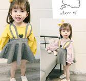 寶寶秋裙童裝嬰兒洋裝6-12個月2歲女兒童套裝0-1-2-3歲長袖兩件
