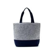 小清新簡約防震手提電腦包14寸 毛氈包 購物袋