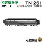 【限時促銷 ↘990元】Brother TN-261 黑色 相容碳粉匣 盒裝 適用HL-3170CDW MFC-9330CDW