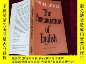 二手書博民逛書店The罕見Pronunciation of Enghlish (