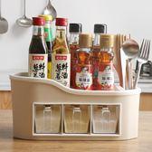 廚房用品調料盒套裝家用組合裝調味罐調料罐調味盒鹽糖佐料收納盒