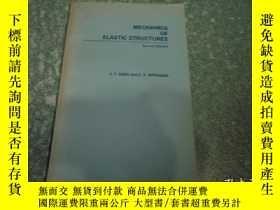 二手書博民逛書店Mechanics罕見of Elastic Structures(彈性結構的力學第2版)Y27829