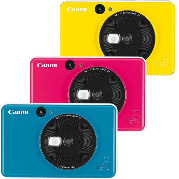 送30張相紙(包含主機10張相紙) 24期零利率 Canon iNSPiC [C] CV-123A 拍可印相機(公司貨)