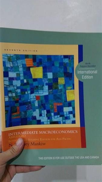 (二手書)Intermediate Macroeconomics