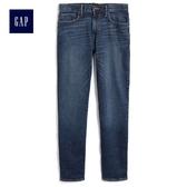 Gap男裝 深色水洗五口袋牛仔褲 789847-深靛藍色