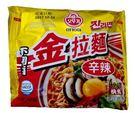 【麻吉熊】韓國不倒翁辣味金拉麵120g(單包)