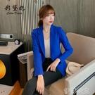外套 新款修身顯瘦西裝外套女韓版時尚百搭小西服春秋網紅氣質上衣