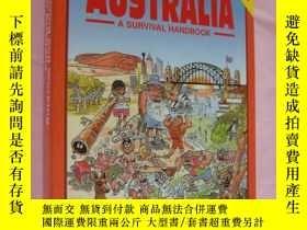 二手書博民逛書店Living罕見and working in Australia