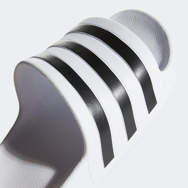 【現貨】ADIDAS ADILETTE AQUA 女鞋 拖鞋 柔軟 防水 海灘 白 黑【運動世界】G28719
