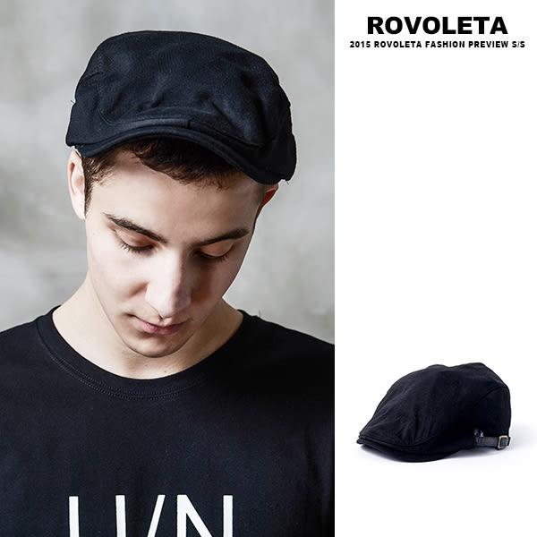 素面小偷帽.平頂帽 【BY-20】(ROVOLETA)