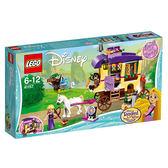 樂高積木LEGO 迪士尼公主系列 41157 長髮公主 樂佩的旅行大篷車