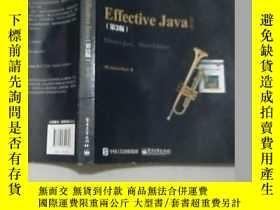 二手書博民逛書店(英文版)Effective罕見Java(第3版)16開Y114