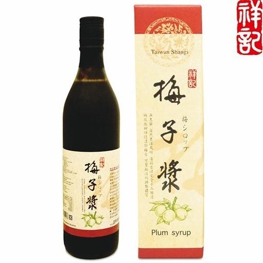 3瓶特惠 祥記 梅子漿 600ml/瓶