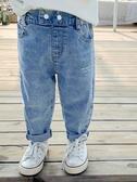 牛仔褲男童牛仔褲兒童褲子男春秋款1-3歲245潮新款洋氣寶寶春裝小童韓版 新品