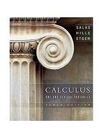 二手書博民逛書店 《Calculus: One and Several Variables, 10/e》 R2Y ISBN:9780471698043│Salas