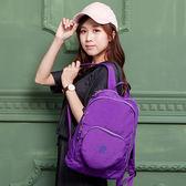 COUNT DUCK 美系悠活輕量愛心輕旅後背包-CD-018(大人款)- 紫色