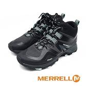 MERRELL (女) MQM FLEX 2 MID GORE-TEX高筒健走登山鞋 - 黑