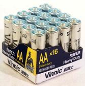 銀戰士碳鋅電池16入-3.4號