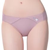 思薇爾-惹萌漾小鳥遊記系列M-XL低腰三角內褲(絹荷紫)
