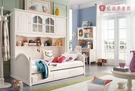 [紅蘋果傢俱] A12 兒童家具 儲物床 雙層床 青年床 母子床 兒童床 單人床 (含安裝)