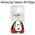 SNOOPY 史努比透明軟殼 [N04] Samsung G9250 Galaxy S6 Edge【台灣正版授權】
