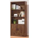 【森可家居】北歐工業風積層木2.6尺下門書櫃 8SB228-7 開放式書櫥 收納 木紋質感 MIT 台灣製造