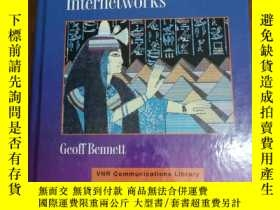 二手書博民逛書店DESIGNING罕見TCP IP INTERNET WORKSY12800 BENNETT VNR ISBN