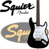 【非凡樂器】Squier Bullet HSS 電吉他原廠公司貨/全配件/黑色【Bullet Strat By Fender系列】