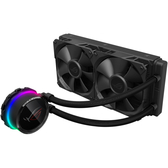 【免運費】ASUS 華碩 ROG RYUO 240 龍王 一體式 CPU 水冷散熱器 / 彩色 OLED 顯示