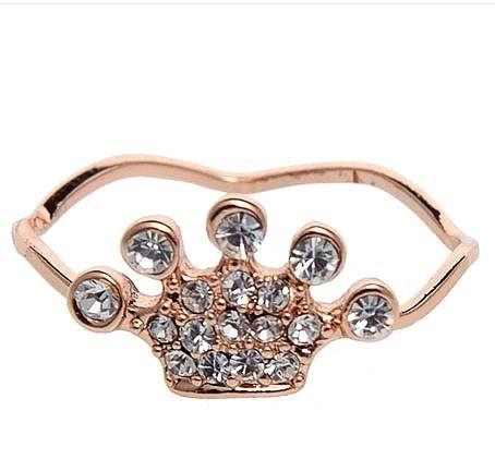 時尚全新公主皇冠戒指