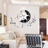 掛鐘 個性創意裝飾鐘表現代簡約客廳歐式藝術時鐘臥室時尚靜音掛表 FR12071『俏美人大尺碼』