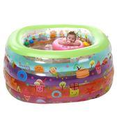 伊潤嬰兒游泳池新生兒充氣保溫幼兒兒童寶寶大號游泳桶加厚家用igo『櫻花小屋』