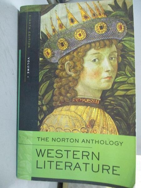 【書寶二手書T9/原文小說_WGU】The Norton Anthology of Western Literature