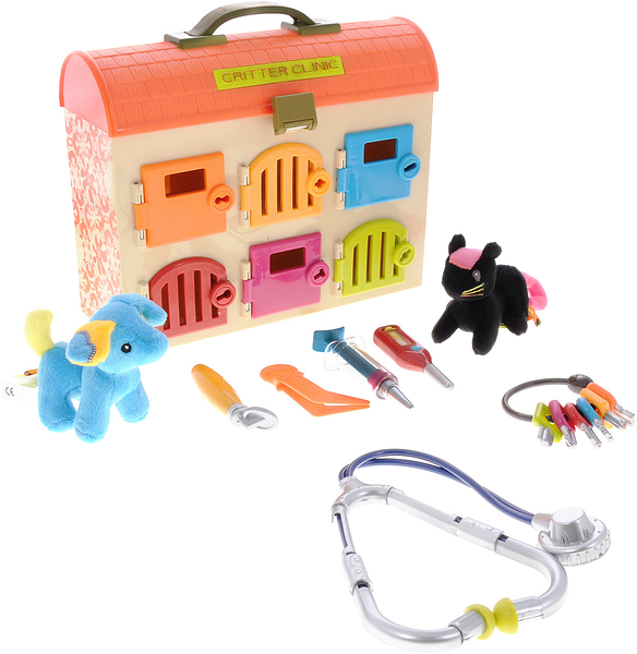 《 美國 B.toys 感統玩具 》可麗特寵物診所╭★ JOYBUS玩具百貨