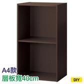 【DIY】42cm彩色櫃 COLOBO A4-雙層櫃 DBR NITORI宜得利家居