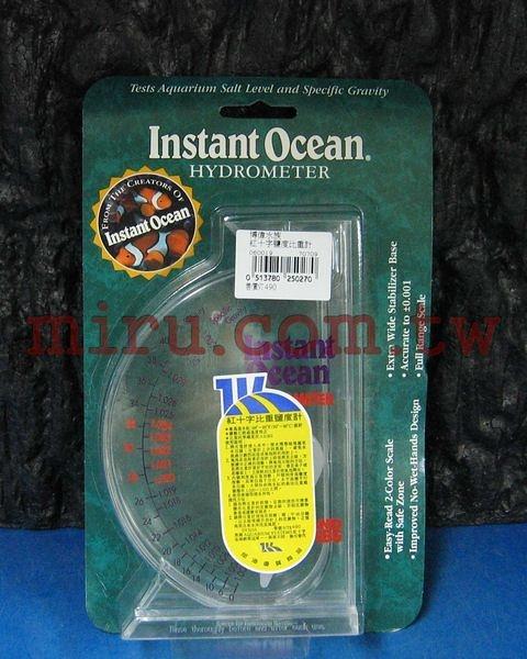 【西高地水族坊】美國紅十字Instant Ocean 鹽度比重計
