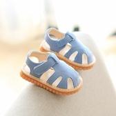 夏季新款涼鞋學步鞋包頭軟底防滑1-2-3歲寶寶童鞋男女童涼鞋